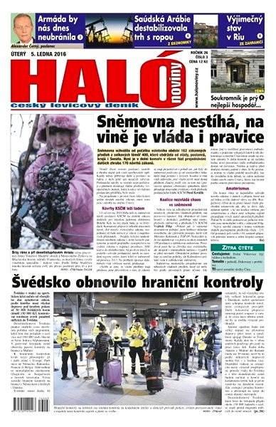 Haló noviny - 05_01_2016 - Elektronické noviny