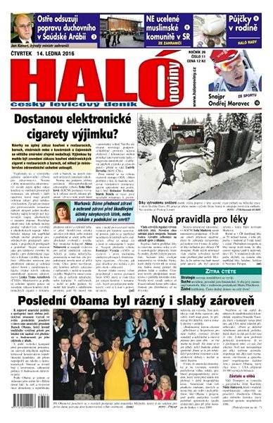 Haló noviny - 14_01_2016 - Elektronické noviny