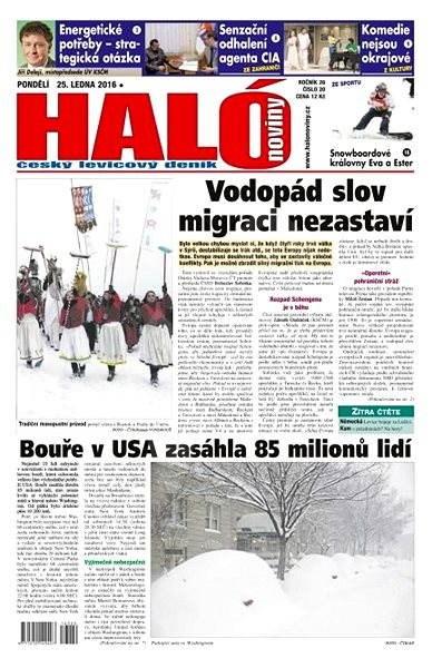 Haló noviny - 25_01_2016 - Elektronické noviny