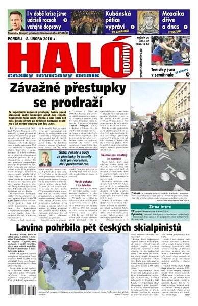 Haló noviny - 08_02_2016 - Elektronické noviny