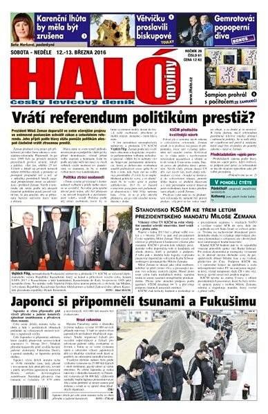 Haló noviny - 12_03_2016 - Elektronické noviny