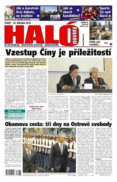Haló noviny - 22_03_2016 - Elektronické noviny