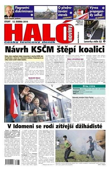 Haló noviny - 12_04_2016 - Elektronické noviny