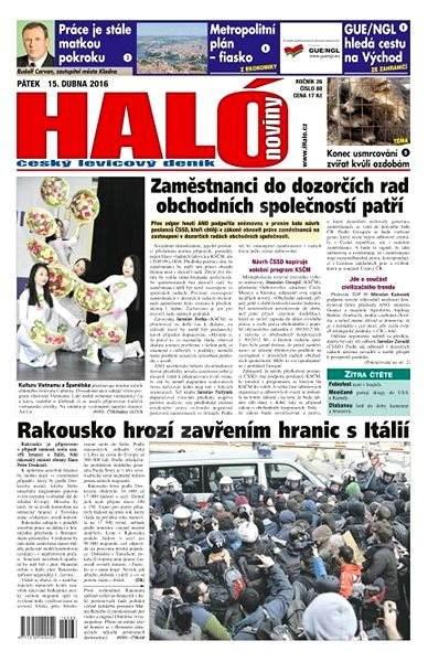 Haló noviny - 15_04_2016 - Elektronické noviny