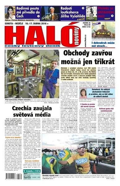 Haló noviny - 16_04_2016 - Elektronické noviny