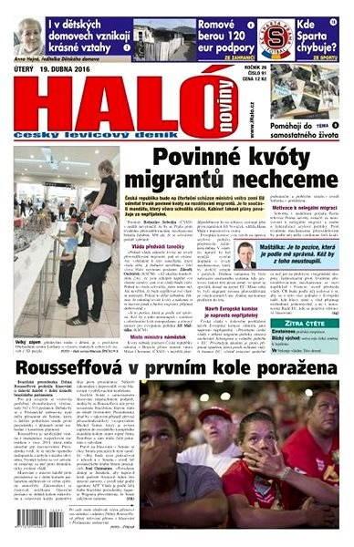 Haló noviny - 19_04_2016 - Elektronické noviny