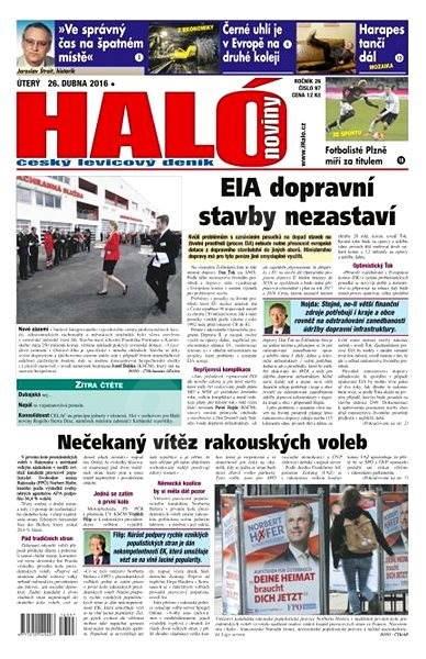 Haló noviny - 26_04_2016 - Elektronické noviny