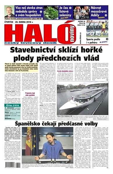 Haló noviny - 28_04_2016 - Elektronické noviny
