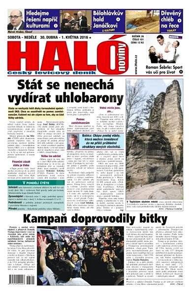 Haló noviny - 30_04_2016 - Elektronické noviny