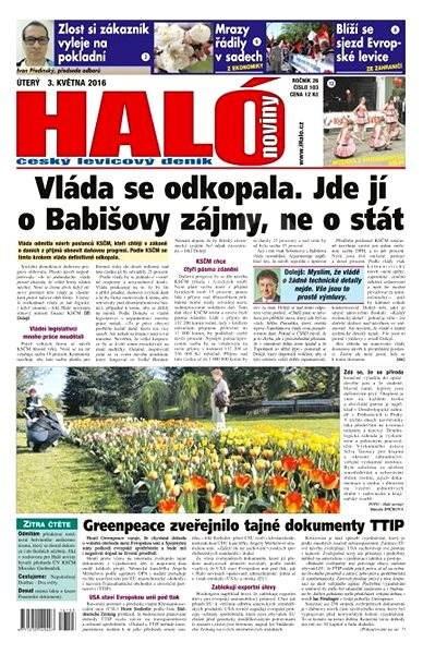 Haló noviny - 03_05_2016 - Elektronické noviny