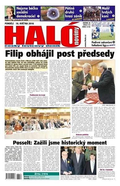 Haló noviny - 16_05_2016 - Elektronické noviny