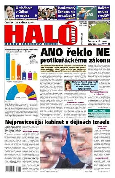 Haló noviny - 26_05_2016 - Elektronické noviny