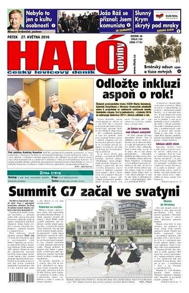 Haló noviny - 27_05_2016 - Elektronické noviny