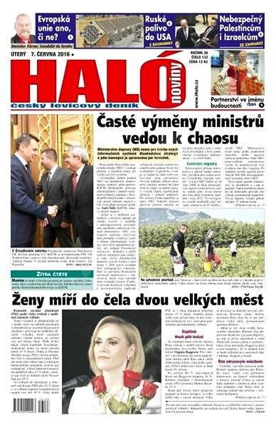 Haló noviny - 07_06_2016 - Elektronické noviny