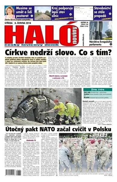 Haló noviny - 08_06_2016 - Elektronické noviny