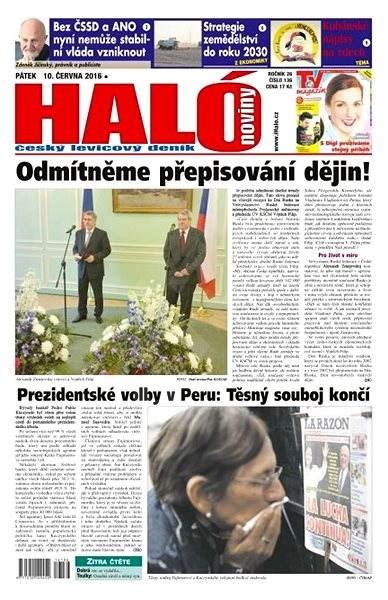 Haló noviny - 10_06_2016 - Elektronické noviny