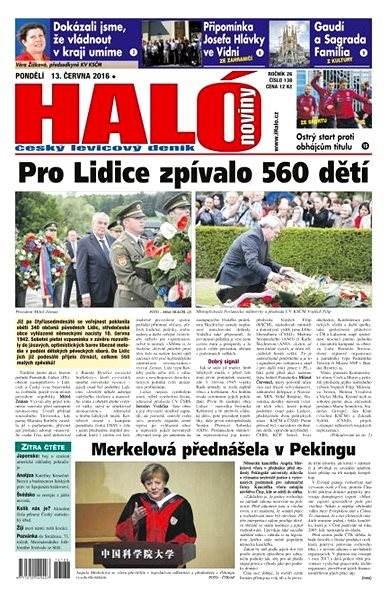 Haló noviny - 13_06_2016 - Elektronické noviny