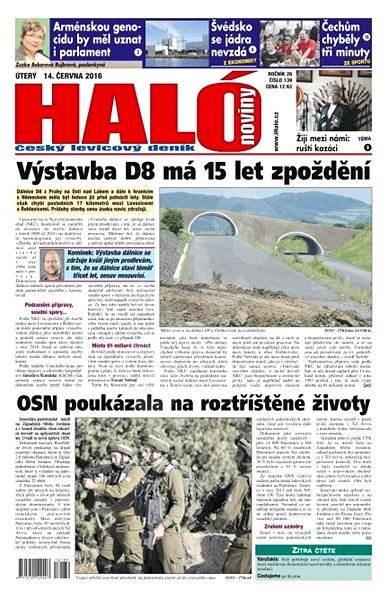 Haló noviny - 14_06_2016 - Elektronické noviny