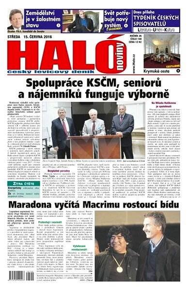 Haló noviny - 15_06_2016 - Elektronické noviny