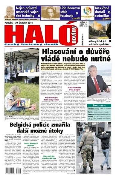 Haló noviny - 20_06_2016 - Elektronické noviny