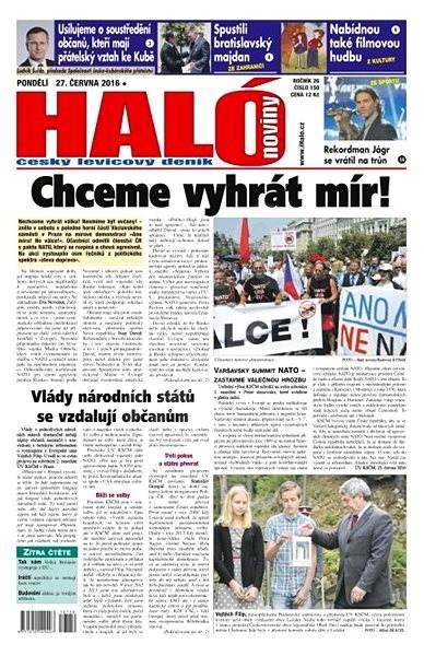 Haló noviny - 27_06_2016 - Elektronické noviny