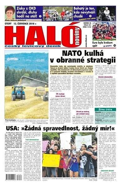 Haló noviny - 12_07_2016 - Elektronické noviny