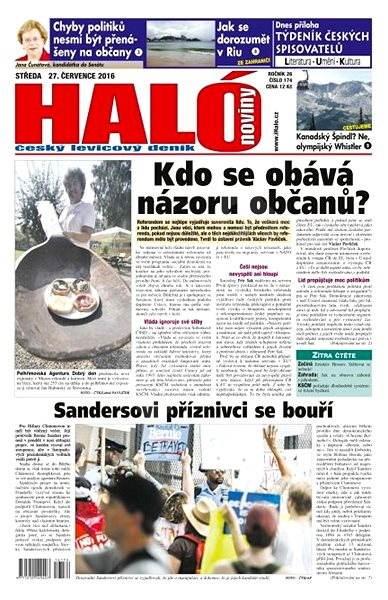 Haló noviny - 27_07_2016 - Elektronické noviny