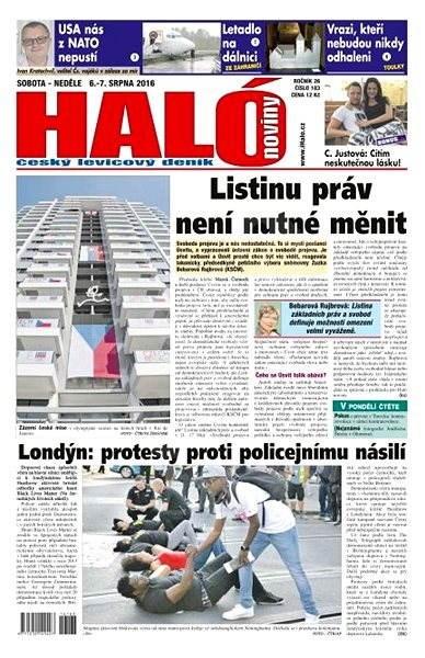 Haló noviny - 06_08_2016 - Elektronické noviny