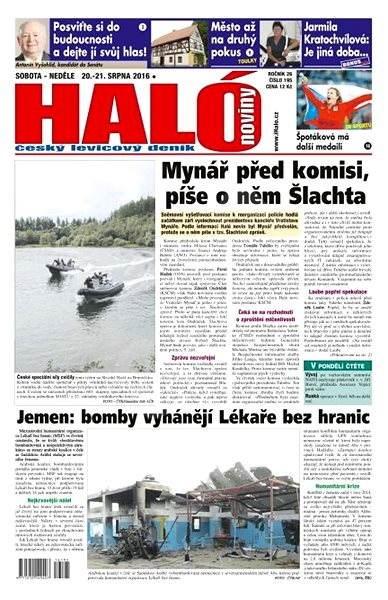 Haló noviny - 20_08_2016 - Elektronické noviny
