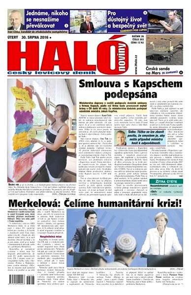 Haló noviny - 30_08_2016 - Elektronické noviny