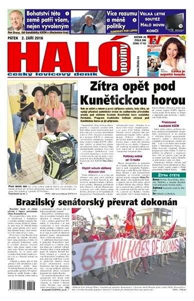 Haló noviny - 02_09_2016 - Elektronické noviny