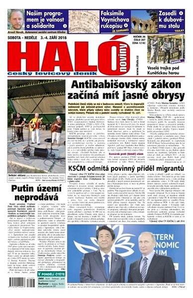 Haló noviny - 03_09_2016 - Elektronické noviny