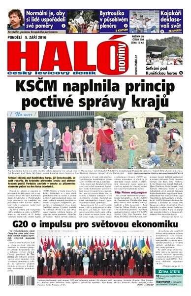 Haló noviny - 05_09_2016 - Elektronické noviny
