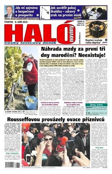 Haló noviny - 08_09_2016 - Elektronické noviny