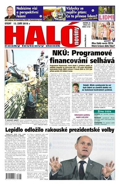 Haló noviny - 13_09_2016 - Elektronické noviny