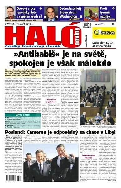 Haló noviny - 15_09_2016 - Elektronické noviny