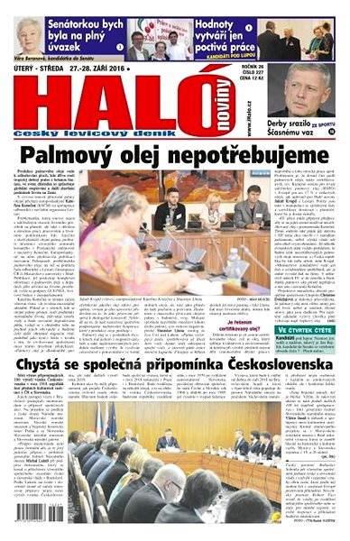 Haló noviny - 27_09_2016 - Elektronické noviny