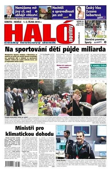Haló noviny - 01_10_2016 - Elektronické noviny