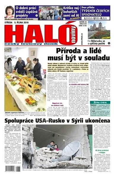 Haló noviny - 05_10_2016 - Elektronické noviny