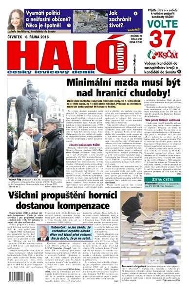 Haló noviny - 06_10_2016 - Elektronické noviny