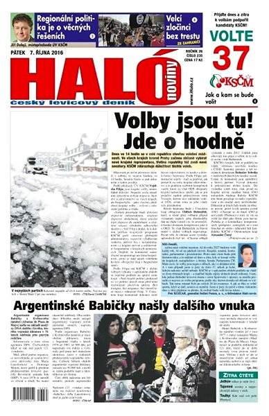 Haló noviny - 07_10_2016 - Elektronické noviny