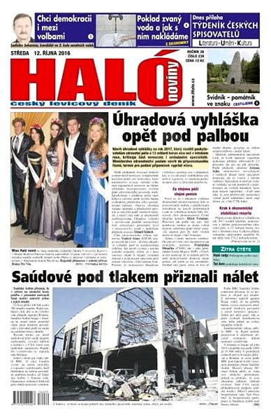 Haló noviny - 12_10_2016 - Elektronické noviny
