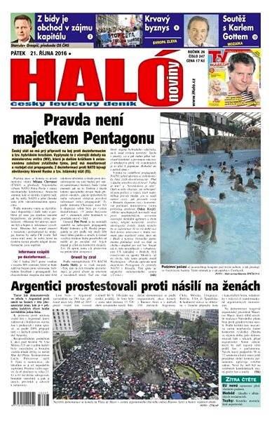 Haló noviny - 21_10_2016 - Elektronické noviny