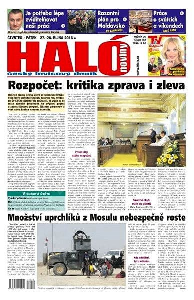 Haló noviny - 27_10_2016 - Elektronické noviny