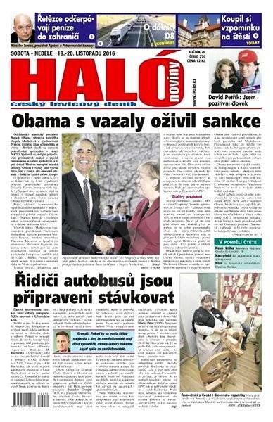Haló noviny - 19_11_2016 - Elektronické noviny