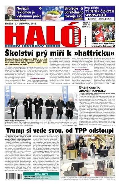 Haló noviny - 23_11_2016 - Elektronické noviny