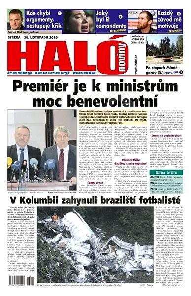 Haló noviny - 30_11_2016 - Elektronické noviny