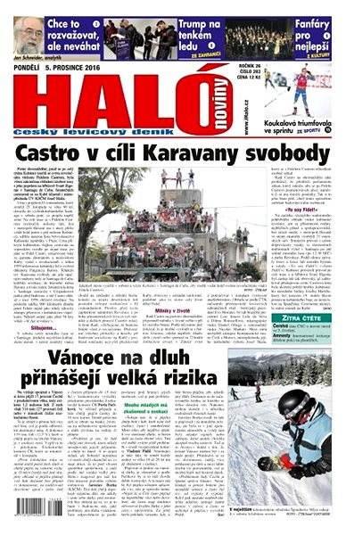 Haló noviny - 05_12_2016 - Elektronické noviny
