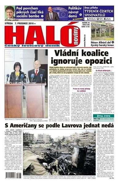 Haló noviny - 07_12_2016 - Elektronické noviny