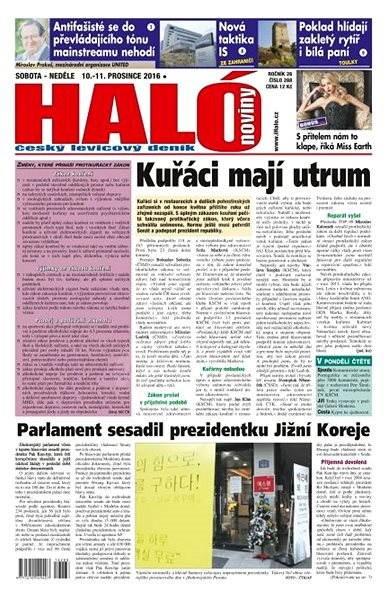 Haló noviny - 10_12_2016 - Elektronické noviny